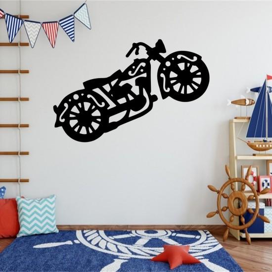 Motosiklet Metal Tablo