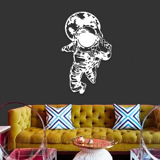 Astronot Metal Tablo