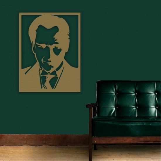 Çerçeveli Atatürk Portre