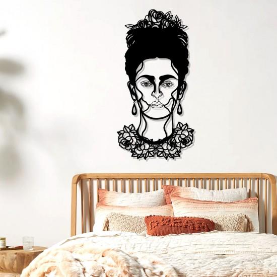 Frida Kahlo Metal Tablo