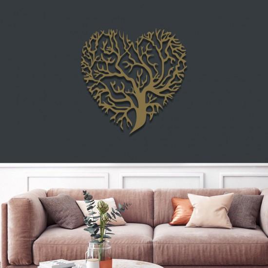 Kalpli Ağaç Metal Tablo