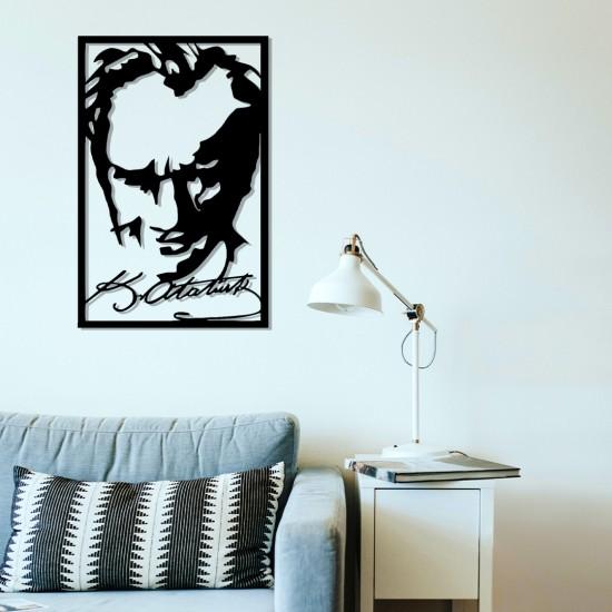 İmzalı Atatürk Portresi