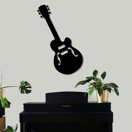 Akustik Gitar Metal Tablo