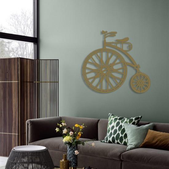 Dekoratif Bisiklet Metal Tablo