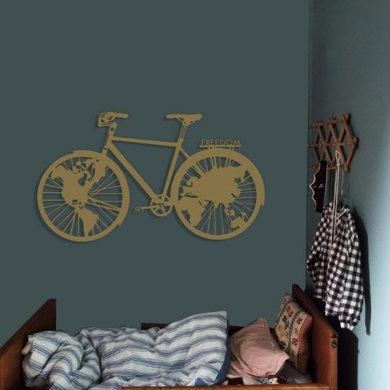 Freedom Bisiklet Metal Tablo