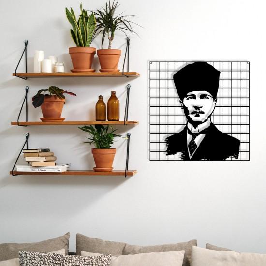 Çerçeveli Ulu Önder Atatürk Portre