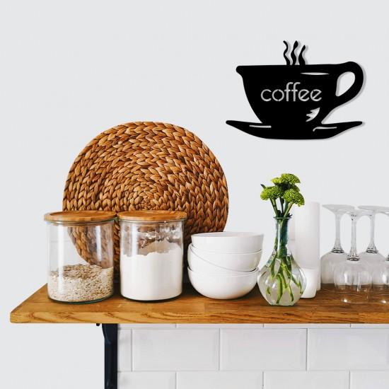 Kahve Bardağı Metal Tablo
